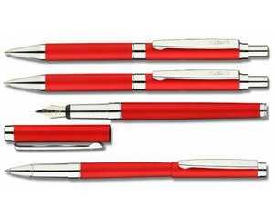 Ручка Гдов с красной матовой окраской
