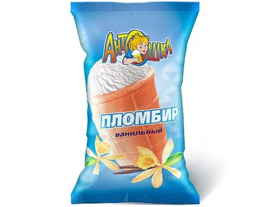 Мороженое Пломбир ванильный
