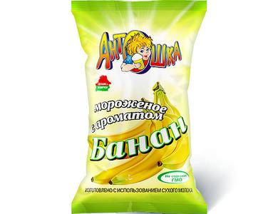 Мороженое Антошка с ароматом банана
