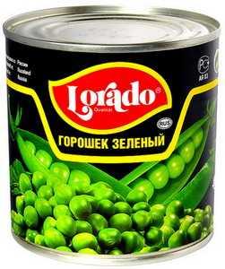Горошек зеленый Lorado 425 мл