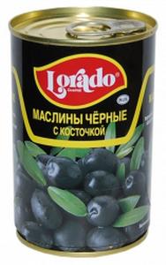 Маслины с косточкой (300/320) Lorado 314 мл