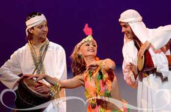 Шоу программа восточных танцев