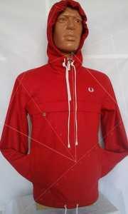 Куртка мужская без застежки, с капюшоном