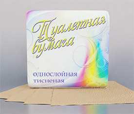 Бумага туалетная светлая по 50 шт. арт. 8С32705 - ОАО Альбертин (Беларусь)