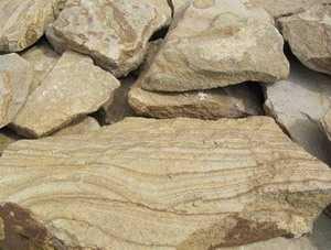 Песчаник желтый с разводами толщина 3 см