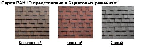 Гибкая черепица Шинглас SHINGLAS РАНЧО