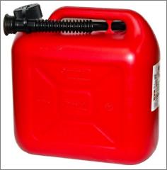 Канистра для топлива пласт. стандарт 20л