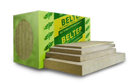 Универсальные теплоизоляционные плиты БЕЛТЕП из минеральной (каменной) ваты марки ЭКО ЛАЙТ