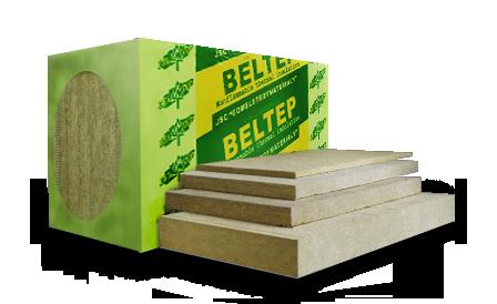 Теплоизоляционные плиты БЕЛТЕП из минеральной (каменной) ваты марки УНИВЕРСАЛ