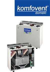Вентиляционные вертикальные устройства DOMEKT RECU 300