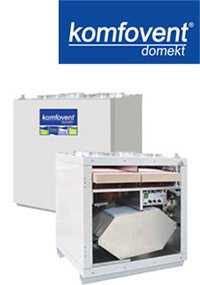 Вентиляционные вертикальные устройства DOMEKT RECU 400