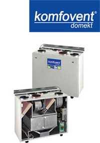 Вентиляционные вертикальные устройства DOMEKT RECU 450