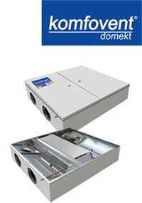 Вентиляционные вертикальные устройства DOMEKT RECU 500
