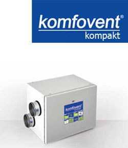 Роторные вентиляционные установки KOMPAKT REGO 400