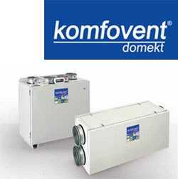 Пластинчатые вентиляционные установки KOMPAKT с теплоутилизатором RECU 700