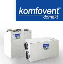 Пластинчатые вентиляционные установки KOMPAKT с теплоутилизатором REGO 900