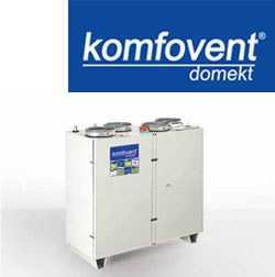 Пластинчатые вентиляционные установки KOMPAKT с теплоутилизатором RECU 1200