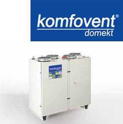 Пластинчатые вентиляционные установки KOMPAKT с теплоутилизатором RECU 1600