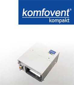 Подпотолочные приточные установки KOMFOVENT KOMPAKT OTK 3000