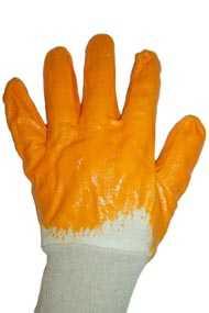 Перчатки рабочие х/б с нитриловым покрытием
