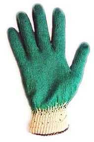Перчатки х/б с одинарным обливом