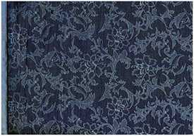 Ткань джинсовая Джинса Цветы