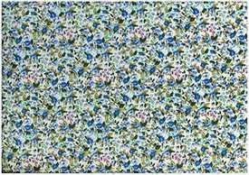 Ткань джинсовая Поплин набивной Атрикул 2039-98