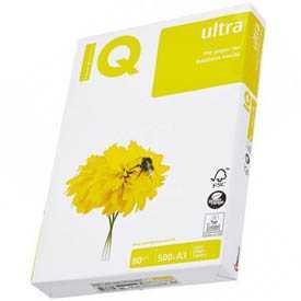 Бумага офисная IQ Ultra А34, 80 г/м2, 500 л, класс A - Mondi