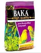 Корм для волнистых попугаев ВАКА High Quality