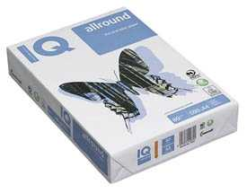 Бумага офисная IQ Allround А4, 80 г/м2, 500 л/пачке, класс B+ - Mondi
