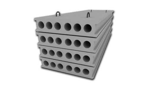 Плиты перекрытий железобетонные многопустотные ПТМ 27.12.22 - 8.0 S500 - 6а F100