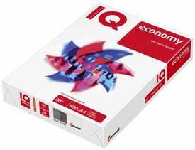 Бумага офисная IQ Economy А4, 80 г/м2, 500 л/пачке, класс C+ - Mondi
