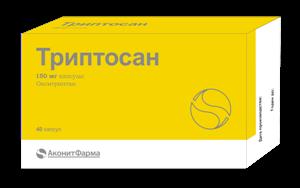 ТРИПТОСАН капс 150мг в уп №20х2 (АконитФарма)
