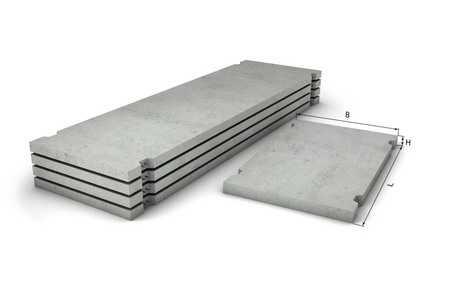 Дорожные плиты 2ПП30.12 - 50 F200