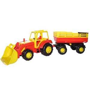 Трактор Мастер с прицепом и ковшом