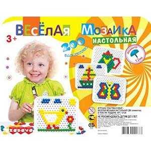 Весёлая мозаика 12мм/200эл.