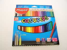 Карандаши цветные 24 шт. COLOR PEPS MAPED