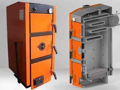 Твердотопливный котел GTM Master 17 длительного горения отопительный на твердом топливе