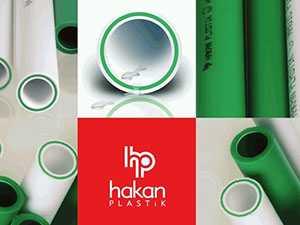 Полипропиленовая труба армированная стекловолокном Hakan plastik PN 20
