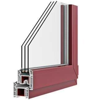 Окна ПВХ из профиля PLAFEN пятикамерная система T-LINE
