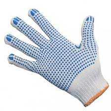 Перчатки трикотажные Стандарт с ПВХ (точка) 10 класс
