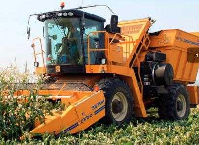 Комбайн для уборки сладкой кукурузы и кукурузы на семена OXBO 2460
