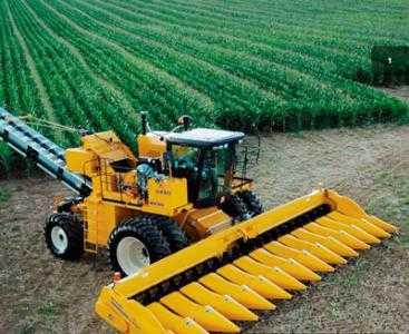 Комбайн для уборки сладкой кукурузы и кукурузы на семена OXBO 8435
