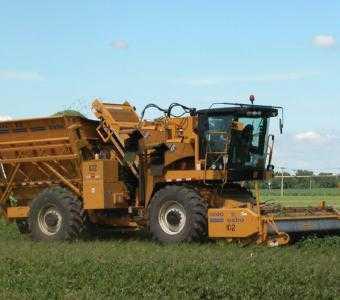 Комбайн для уборки сладкой кукурузы и кукурузы на семена OXBO 2470