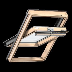 Мансардное окно VELUX PREMIUM (Велюкс Премиум) Стандарт GLL 1061 (2-х камерный стеклопакет, ручка сверху) - VELUX
