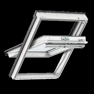 Мансардное окно VELUX PREMIUM (Велюкс Премиум) Стандарт GLU 0061 (2-х камерный стеклопакет, ручка сверху) - VELUX