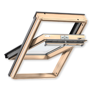 Мансардное окно VELUX PREMIUM (Велюкс Премиум) Стандарт GLL 1061В (2-х камерный стеклопакет, ручка снизу) - VELUX