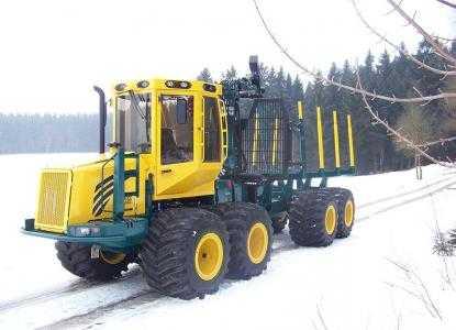 Лесозаготовительная машина форвардер HSM 208F 12