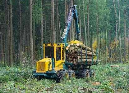 Лесозаготовительная машина форвардер HSM 208F 11