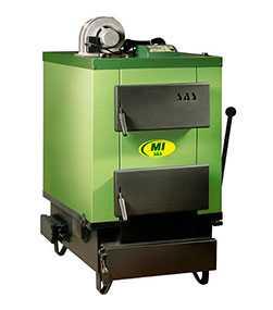 Твердотопливный котел SAS MI (17 кВт)